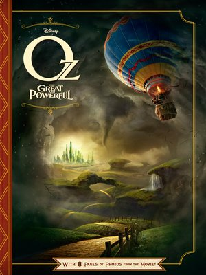 cover image of Oz The Great and Powerful Junior Novel