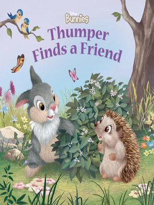 cover image of Thumper Finds a Friend