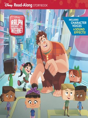 cover image of Ralph Breaks the Internet Read-Along Storybook