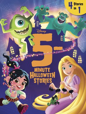 cover image of 5-Minute Halloween Stories