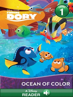 cover image of An Ocean of Color: A Disney Read-Along (Level 1)