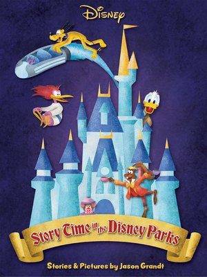 cover image of Story Time in the Disney Parks