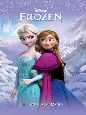 cover image of Frozen Junior Novel