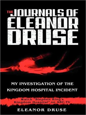 cover image of The Journals of Eleanor Druse