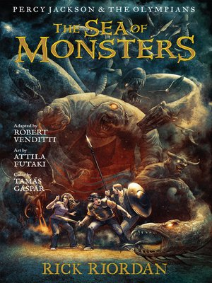 cover image of The Sea of Monsters: The Graphic Novel