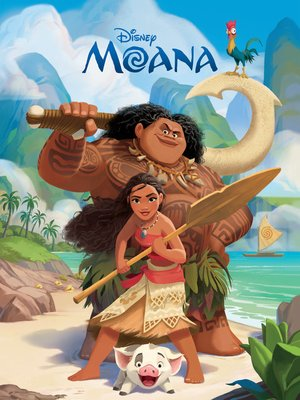 cover image of Moana Movie Storybook