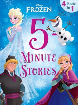 cover image of 5-Minute Frozen Stories: 4 books in 1