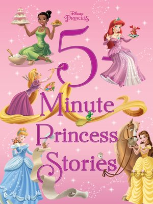 cover image of 5-Minute Princess Stories