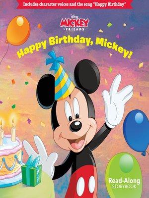 cover image of Happy Birthday, Mickey!