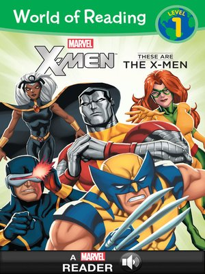 cover image of World of Reading X-Men
