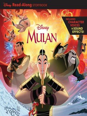 cover image of Mulan Read-Along Storybook