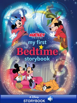 cover image of My First Mickey Mouse Bedtime Storybook