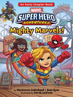 cover image of Mighty Marvels!