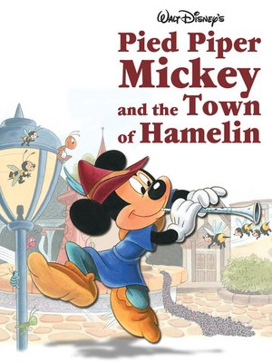 cover image of Pied Piper Mickey and the Town of Hamelin