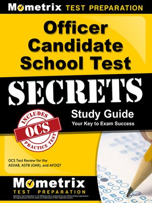 cover image of Officer Candidate School Test Secrets Study Guide