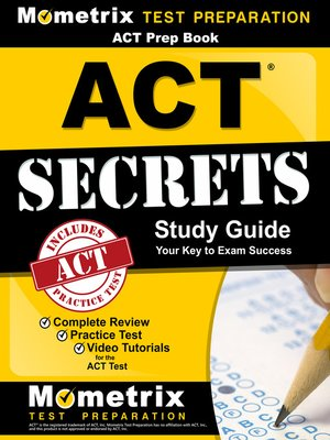 cover image of ACT Prep Book: ACT Secrets Study Guide