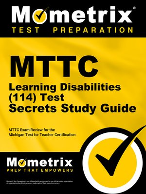 cover image of MTTC Learning Disabilities (114) Secrets Study Guide