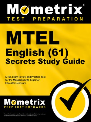 cover image of MTEL English (61) Secrets Study Guide