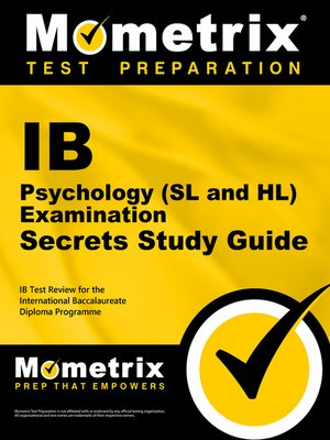 cover image of IB Psychology (SL and HL) Examination Secrets Study Guide