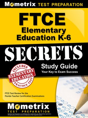 cover image of FTCE Elementary Ed K-6 Secrets Study Guide