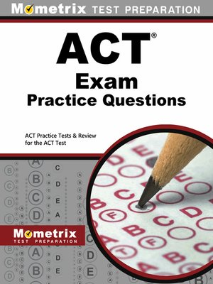 cover image of ACT Exam Practice Questions