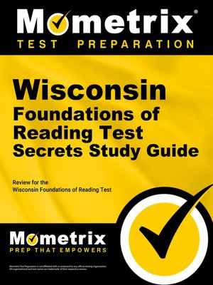 cover image of Wisconsin Foundations of Reading Test Secrets Study Guide