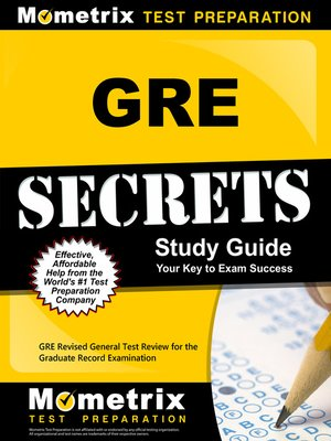 cover image of GRE Secrets Study Guide