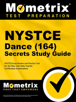 cover image of NYSTCE Dance (164) Secrets Study Guide