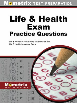 cover image of Life & Health Exam Practice Questions