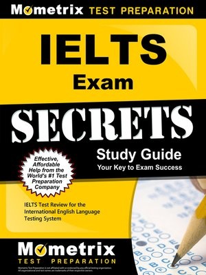 cover image of IELTS Exam Secrets Study Guide