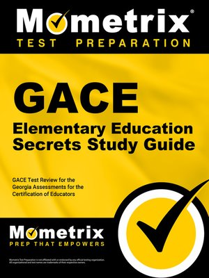 cover image of GACE Elementary Education Secrets Study Guide