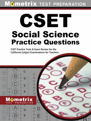 cover image of CSET Social Science Practice Questions