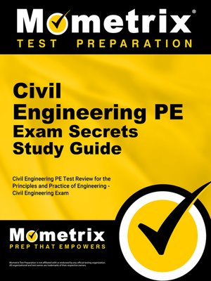 Civil Engineering PE Exam Secrets Study Guide by Civil
