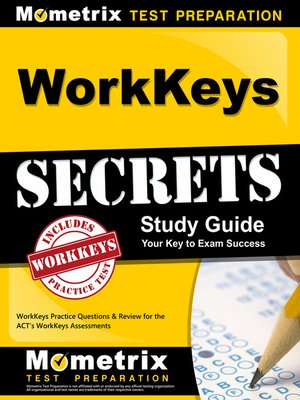 cover image of WorkKeys Secrets Study Guide