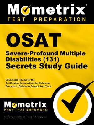 cover image of OSAT Severe-Profound/Multiple Disabilities (131) Secrets Study Guide