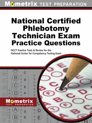cover image of National Certified Phlebotomy Technician Exam Practice Questions