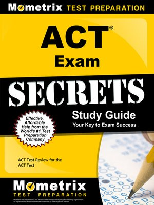 cover image of ACT Exam Secrets Study Guide