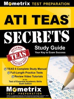 cover image of ATI TEAS Secrets Study Guide