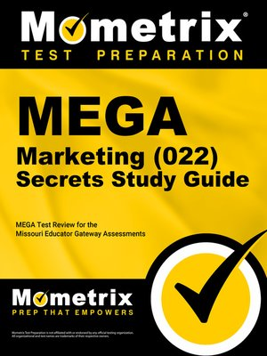 cover image of MEGA Marketing (022) Secrets Study Guide