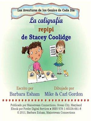 cover image of La caligrafia repipi de Stacey Coolidge