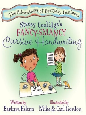 cover image of Stacey Coolidge's Fancy-Smancy Cursive Handwriting
