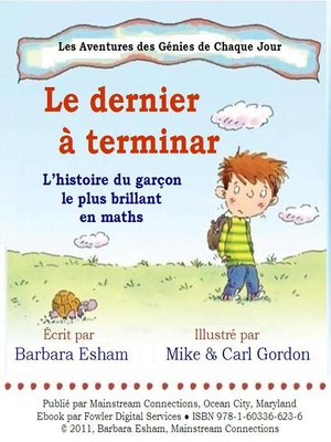 cover image of Le dernier a terminer