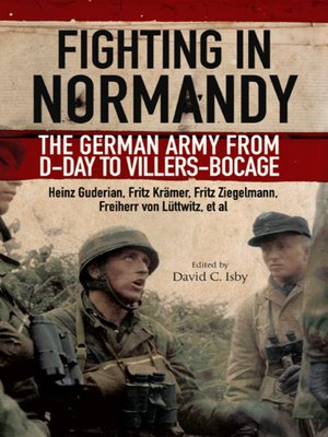 cover image of Fighting in Normandy