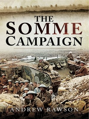 cover image of Somme Campaign