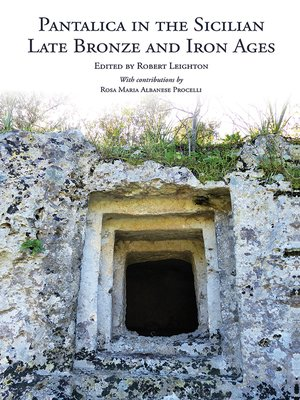 cover image of Pantalica in the Sicilian Late Bronze and Iron Ages
