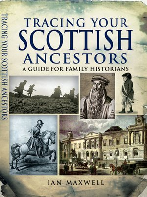 cover image of Tracing Your Scottish Ancestors