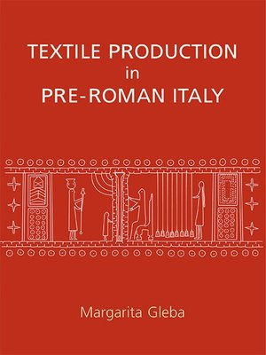 cover image of Textile Production in Pre-Roman Italy