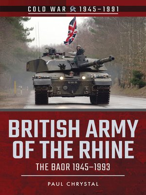 cover image of British Army of the Rhine