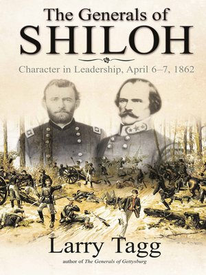 cover image of The Generals of Shiloh