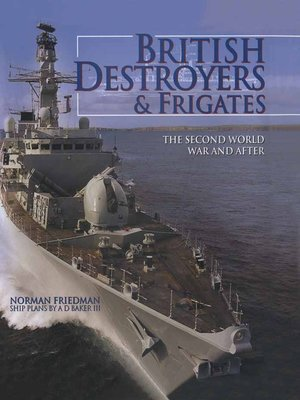 cover image of British Destroyers & Frigates